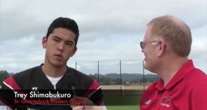 Summer Camp: Western Oregon QB Trey Shimabukuro