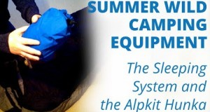 Summer Wild Camping Equipment: The Sleeping System and the Alpkit Hunka