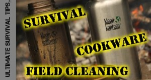 Survival Quick Tip – Restore Charred Cookware WITHOUT Soap – Easy Camping Cookware Clean Up!