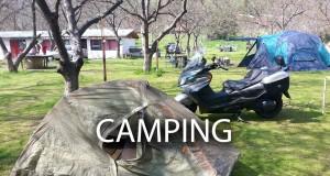 Suzuki Burgman 400 – Camping Tips