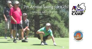 Swing for Kids 2015 | Agur Lake Camp