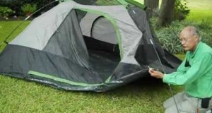 Ten Minute Tent: Quick Build: Boulder Creek 9×8 Family Camping Tent : 1445