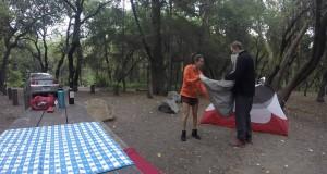 Tent Camping   Santa Cruz