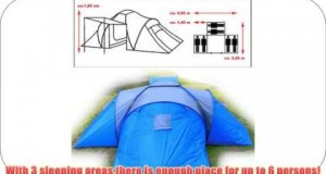 Tent camping tent family tent waterproof tents 6 man tent camping equipment tent