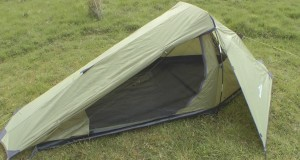 Testing a bargain one man tent from Aldi