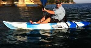 Testing Cool Water Kayaks @  The South Coast Caravan, Camping & Holiday Expo 2011