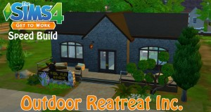 The Sims 4 | Speed Build – Outdoor Retreat Inc.