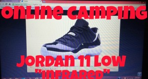 "Tips on How to Get Shoes on Nike.com Without Bot + Online Camping  For Air Jordan 11 Low ""Infrared"""
