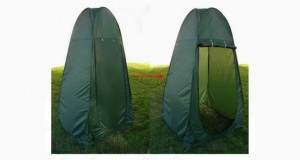 TMS® Portable Pop up Tent Camping Beach Toilet Shower Changing Room Outdoor Bag Green