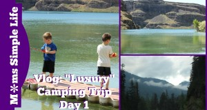 "Travel Vlog: ""Luxury"" Camping Trip Day 1"