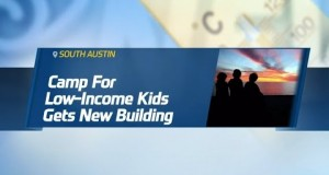 TWC News: Camp for Low Income Kids Gets New Building