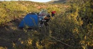 Vid 30, 2014 Bike Trip, Motorcycle Tent Camping in Sedona AZ