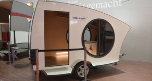 Vohringer's Speed-Wagon camping trailer