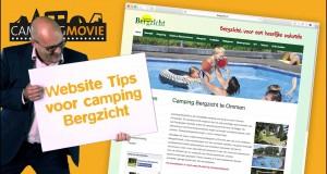 Website tips voor camping Bergzicht – CampingMovie