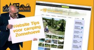 Website tips voor Camping zonnehoeve CampingMovie