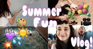 WEEKLY VLOG: Spa Day And Summer Camp Fun!