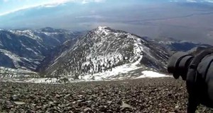 White Mountain Backpacking & Hiking with Camping Equipment in Winter