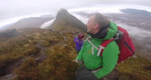 Wild Camping on Suilven Scotland