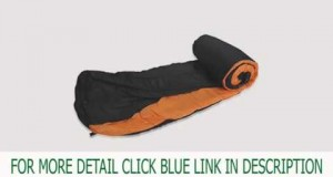 Winter -10℃ Hiking Twin Camping Mummy Sleeping Bag Top Goods