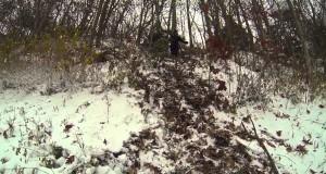 Winter Adventures: Looking Glass Rock Camping 2014 North Carolina