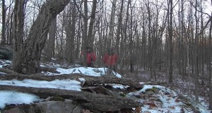 Winter Bushcraft Survival Backpacking Overnight Camping trip