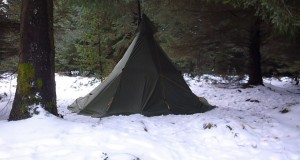 Winter Bushcraft Wild Camping at Stinchar Bridge WC#5