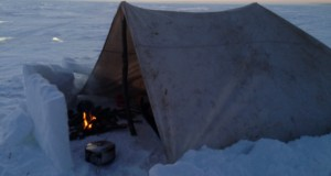 WINTER CAMPING  AT – 25 !