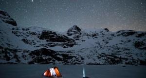 Winter Camping at Joffre Lakes