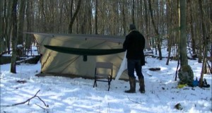 Winter camping, hunting. and trapping