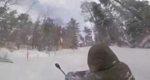 WINTER CAMPING – Ice fishing – Rabbit hunting رحلة الشتاء صيد سمك وأرانب