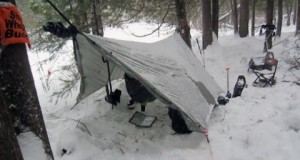 Winter Camping on Sioux Hustler Trail BWCA Minnesota