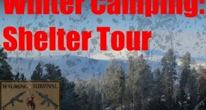 Winter Camping Shelter Tour