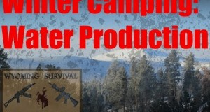 Winter Camping Water Production
