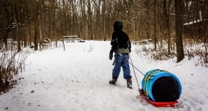 Winter Camping with Kids, What's in my Pack