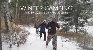 Winter Hammock Camping – 2015 Frozen Butt Hang