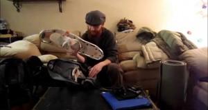 Winter Hammock Camping Gear (Frozen Butt Hang 2015)