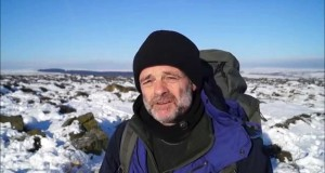 Winter Wild Camp in Snow with Quasar Tent in Peak District