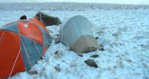 Winter Wild Camping in the Cheviots