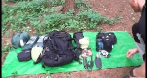 WOODLAND KIT REVIEW/WILD CAMPING EQUIPMENT