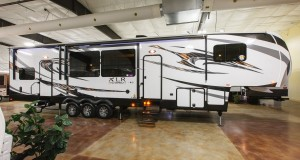 XLR Thunderbolt 380AMP 5th Wheel Toy Hauler at Cheyenne Camping Center