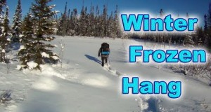 Zub Zero (-19 F) Winter Overnight in a Hammock (With Subtitles!)