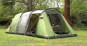 Coleman® Cook 4 – Four person Family Camping Tent