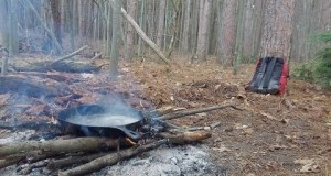 How To Clean Cast Iron Skillet Camping In The Woods