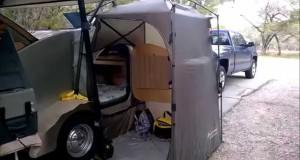 Teardrop Trailer Side Entrance Tent